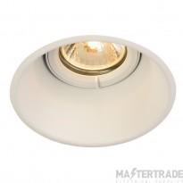 Intalite 113141 HORN-T GU10, steel, 1x GU10 max. 50W, matt white, incl. clip springs