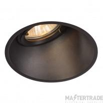 Intalite 113150 HORN-A GU10, steel, 1x GU10 max. 50W, matt black, incl. clip springs