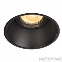 Intalite 113160 HORN-O GU10, steel, 1x GU10 max. 50W, matt black, IP21, incl. clip springs