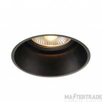 Intalite 113170 HORN-T recessed fitting, QPAR111, matt black, GU10, max. 50W