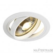SLV 113540 NEW TRIA ES111 downlight, round, matt white, max. 75W, incl. leaf springs