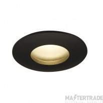 Intalite 114460 OUT 65 LED DL ROUND SET, downlight, matt black, 9W, 38? , 3000K, incl. driver