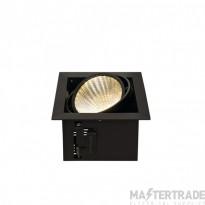 SLV 115730 KADUX LED DL SET XL, square, matt black, 24W, 30?, 3000K, incl. driver