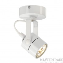 Intalite 132021 SPOT 79 240V wall and ceiling light, white, GU10, max. 50W