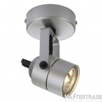 Intalite 132024 SPOT 79 240V wall and ceiling light, silver-grey, GU10, max. 50W