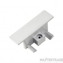 SLV 143281 End caps for 1-circuit track, recessed version, white, 2 pcs.