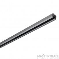 SLV 145102 EUTRAC 3-circuit track, silver-grey, 1m