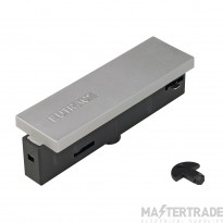 SLV 145534 EUTRAC central power feed, silver-grey