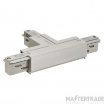 SLV 145644 EUTRAC T-connector earth right , silver-grey