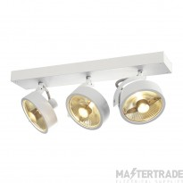 SLV 147321 KALU 3 QPAR ceiling light, matt white, 3x ES111, max. 3x 75W