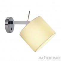 SLV 156021 TENORA wall light, WL-1, white , E27, max. 60W