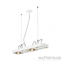 SLV 159221 AIXLIGHT R2 LONG LED GU10, QPAR111, pendant, semicircular , white