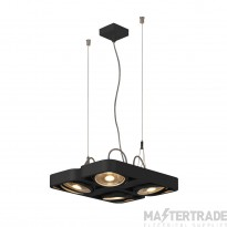 SLV 159230 AIXLIGHT R2 SQUARE LED GU10, QPAR111, pendant, semicircular , black