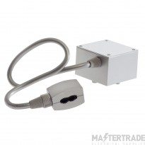 SLV 184002 Feed-in for EASYTEC II, silver-grey, cable length: 40cm