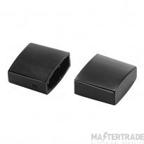 SLV 184140 End cap for EASYTEC II, 2 pcs. , black