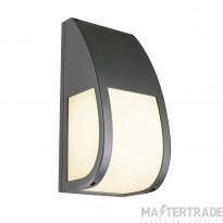 SLV 227176 KERAS ELT wall light, anthracite, E27 Energy Saver, max. 25W, IP54