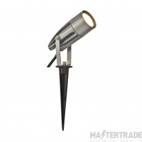 SLV 227504 SYNA LED, earth spike, silver-grey, 240V, 3000K