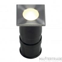 SLV 228342 POWER TRAIL-LITE SQUARE, stainless steel 316, 1W LED, 3000K, IP67