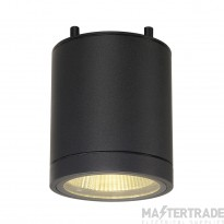 SLV 228505 ENOLA_C OUT CL ceiling light, round, anthracite, 9W LED, 3000K, 35?