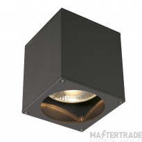 SLV 229555 BIG THEO CEILING OUT ceiling light, square, anthracite, ES111, max. 75W