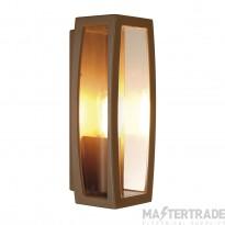 SLV 230657 MERIDIAN BOX 2 wall light, rust, E27, max. 25W, IP54