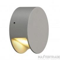 SLV 231012 PEMA LED wall light, silver-grey, 3.3W LED, 3000K, IP44