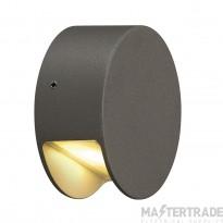 SLV 231015 PEMA LED wall light, anthracite, 3.3W LED, 3000K, IP44