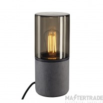 SLV 231360 LISENNE-O table lamp, round, E27, max. 23W, incl. switch, connection lead and plug