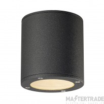 SLV 231545 SITRA CEILING LIGHT, round, anthracite, GX53, max. 9W, IP44