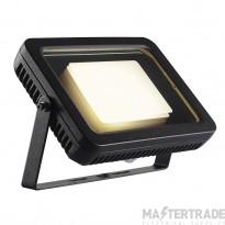 SLV 232820 SPOODI floodlight, square, 30W , black, 3000K LED