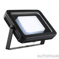 Intalite 232830 SPOODI floodlight, square, 30W , black, 4000K LED
