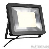 SLV 232840 SPOODI floodlight, square, 60W , black, 3000K LED