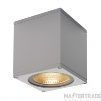 SLV 234534 BIG THEO CEILING, outdoor ceiling light, LED, 3000K, silver-grey