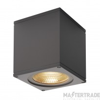 SLV 234535 BIG THEO CEILING, outdoor ceiling light, LED, 3000K, anthracite