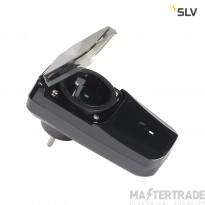 SLV Wireless socket switch BE/FR, Outdoor, max. 3500W
