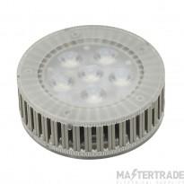 SLV 550082 LED GX53 lamp, 7.5W, 450lm, 6 SMD LED, 25?, 3000K