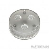 SLV 550092 GX53 LED lamp, 3x 1.4W, 3000K LED, 35? beam angle