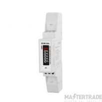 SDM120ASingle Phase, MID, Analogue, kWh, Dinrail Meter (45A Direct Connected - Pulsed Output)