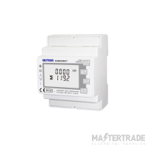 Single / Three Phase, MID, 1/5A ,CT Operated, Multifunction Dinrail Meter, Without THD & Demand and only goes to 9600 Baud rate