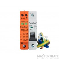 FuseBox SPDCUKITT2 Spd 1 Mod Npe Inc Cables And 32A B Type Mcb For Consumer Unit