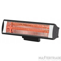 Tansun RIO215IP/B Infra-Red Heater 1.5kW Blk