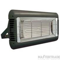 Tansun SOR213CUKBLK I/R Heater 1.3kW