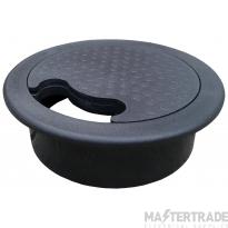 Tass DGB80 Desk Grommet 80mm Black