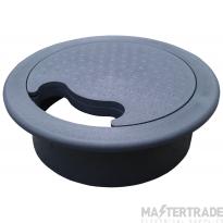 Tass DGG80 Desk Grommet 80mm Grey