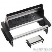 Tass IDP2USB Within Desk Power Unit 2x5A
