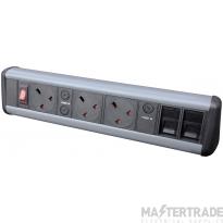 Tass P-PACK3/2S Desktop Power Unit 3x5A