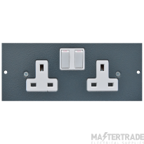 Tass STO300 Switched Socket 2G 13A