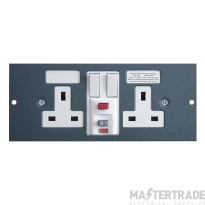 Tass STO300/RCD Switched Socket 2G 13A