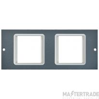 Tass STO304 Euro Module Plate 2x50mm