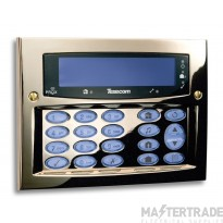 Texecom Premier Elite Polished Brass FMK Keypad DBD-0122